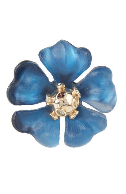 Alexis Bittar Accessories SPUTNIK FLOWER PIN