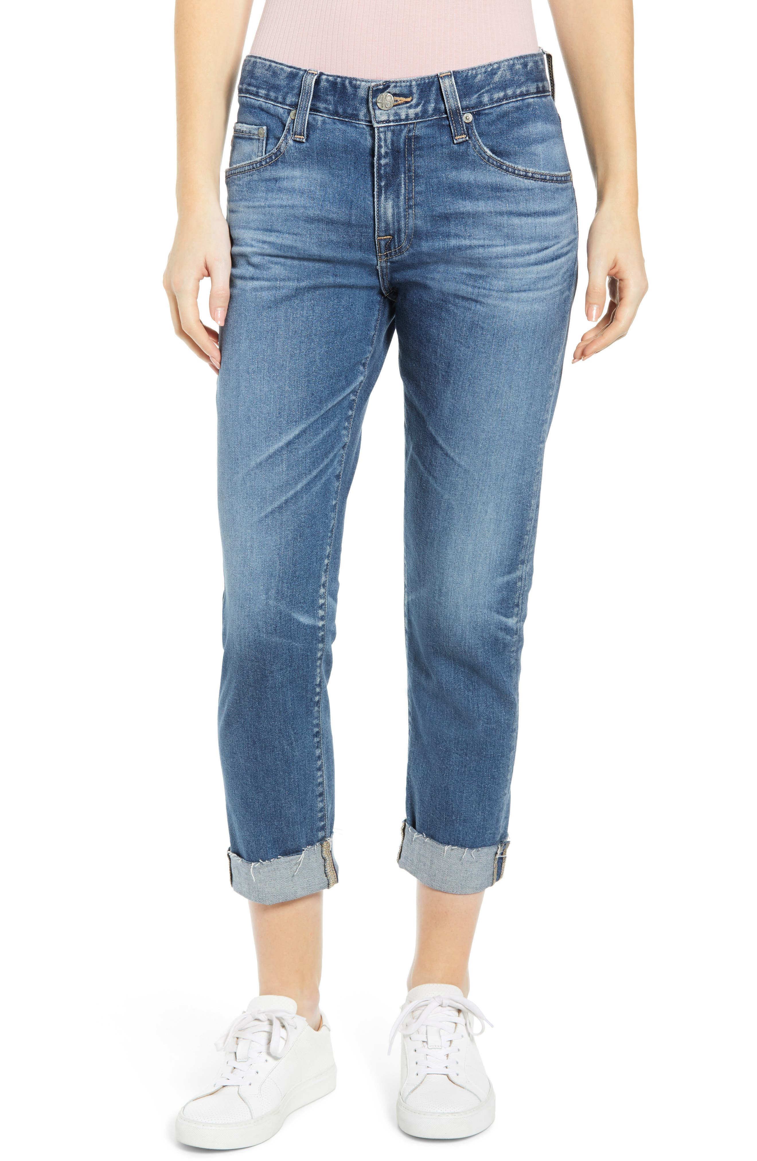 AG The Ex-Boyfriend Slim Jeans (14 Year Cool Water)