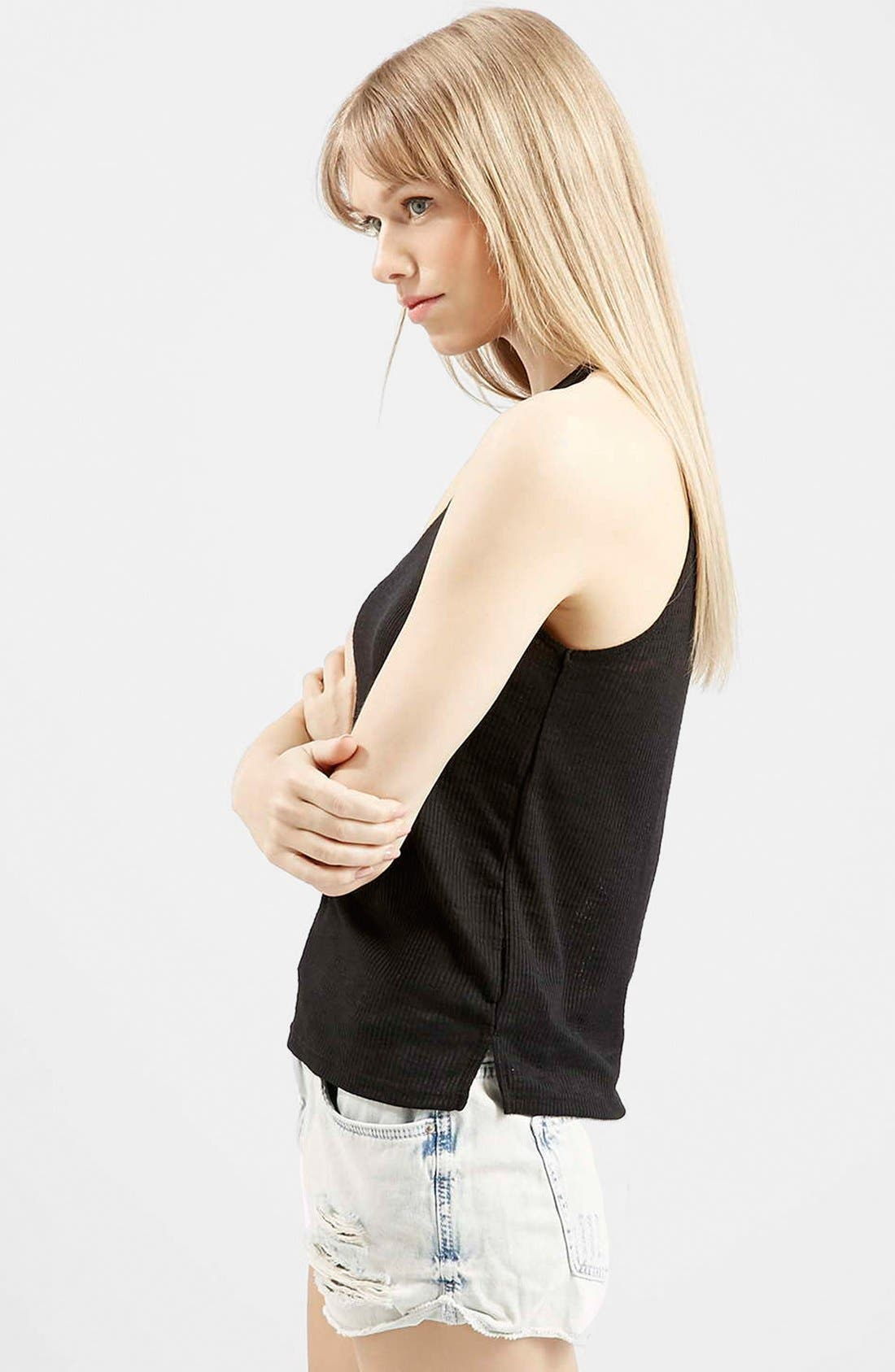 '70s High Neck Tank, Main, color, 001