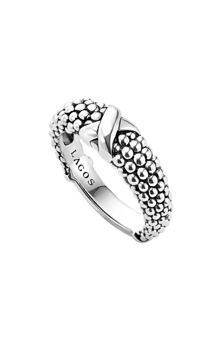 LAGOS 'Signature Caviar' Ring, Main, color, 040
