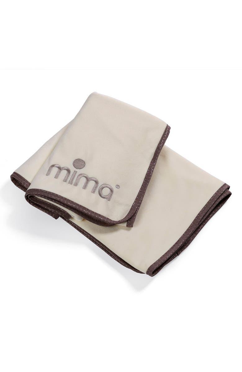 MIMA Stroller Blanket, Main, color, BEIGE