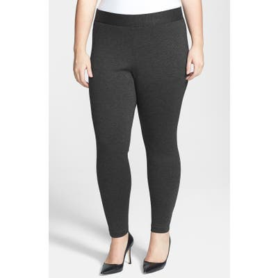 Plus Size Vince Camuto High Rise Leggings, Grey