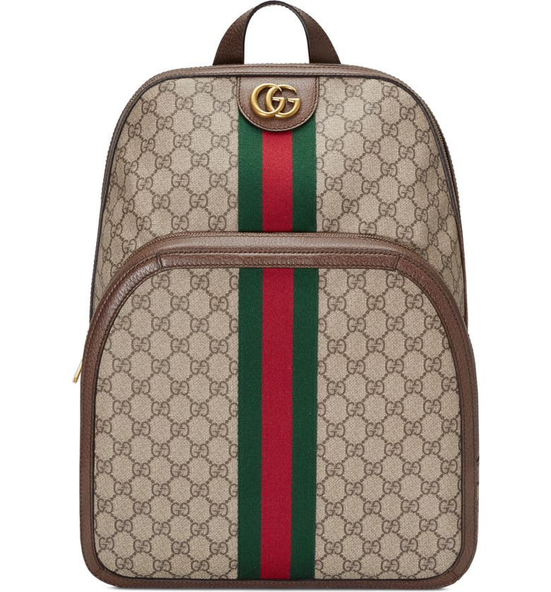 GUCCI Ophedia Backpack, Main, color, BEIGE