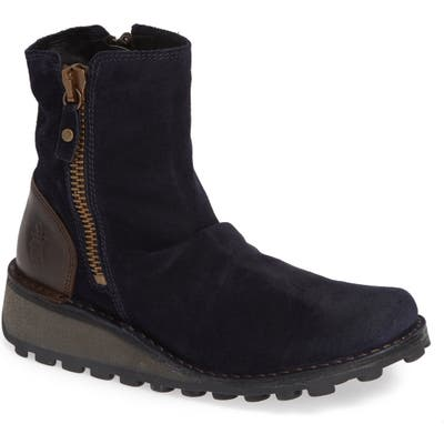 Fly London Mong Boot, Blue