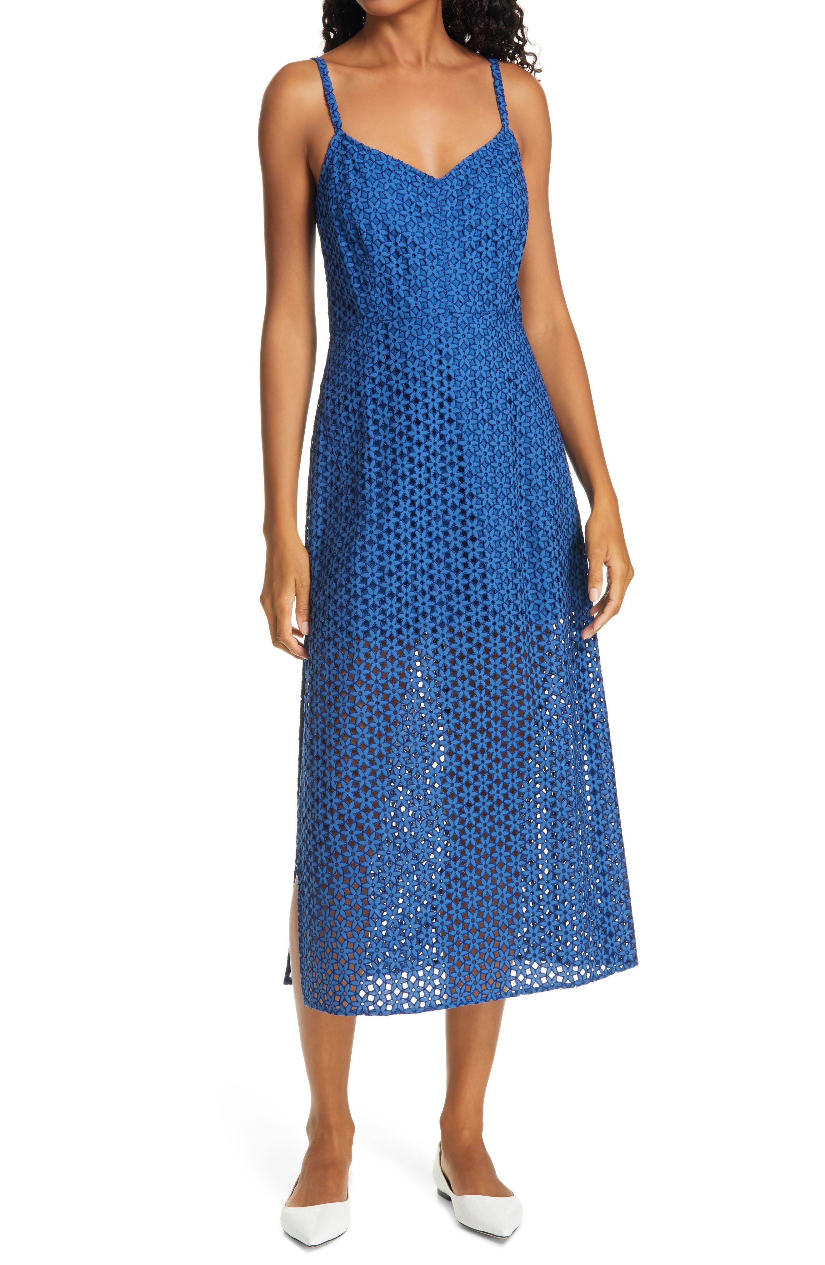 Rachel Comey Agitator Lace Midi Dress | Nordstrom