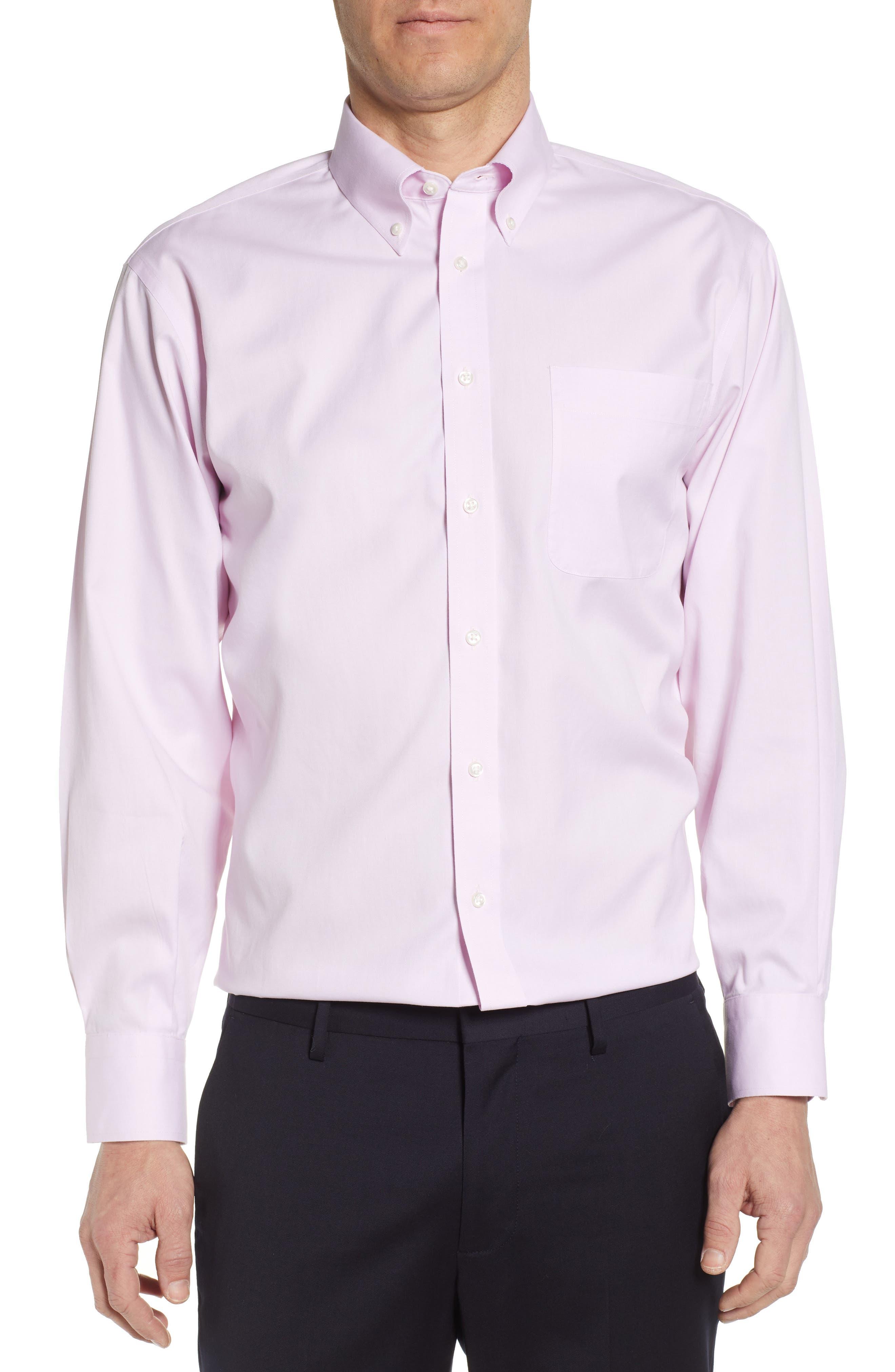 Nordstrom Shop Smartcare(TM) Classic Fit Dress Shirt - Pink