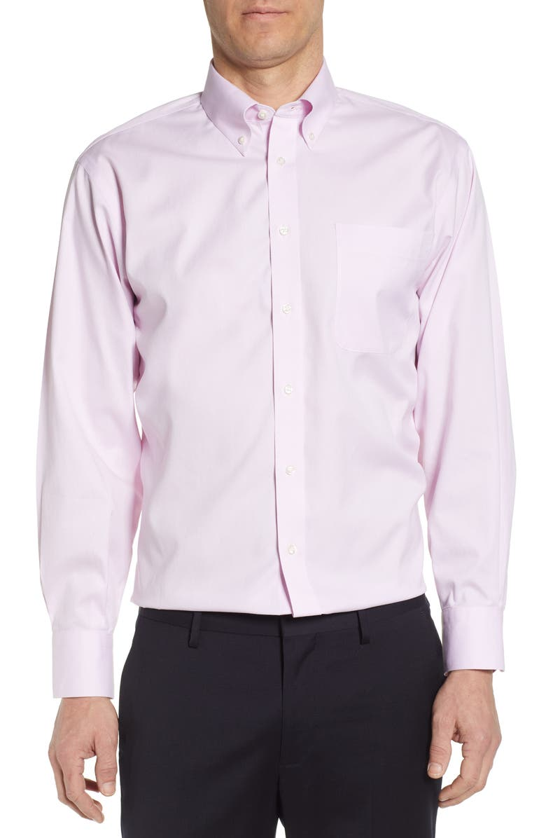 NORDSTROM MEN'S SHOP Smartcare<sup>™</sup> Classic Fit Dress Shirt, Main, color, LIGHT PINK