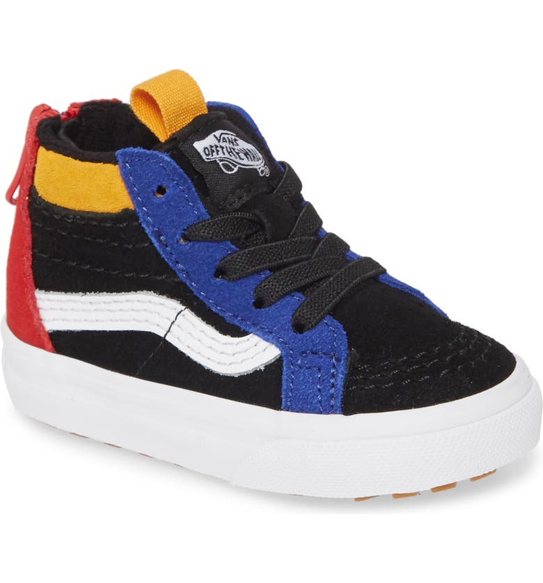 VANS Sk8-Hi MTE Sneaker, Main, color, BLACK/ SURF THE WEB