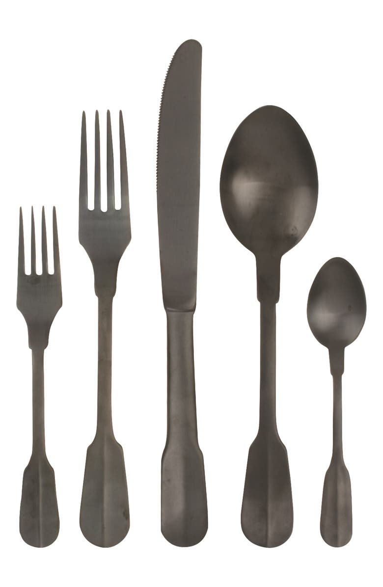 CANVAS HOME Madrid 5-Piece Flatware Place Setting, Main, color, 001