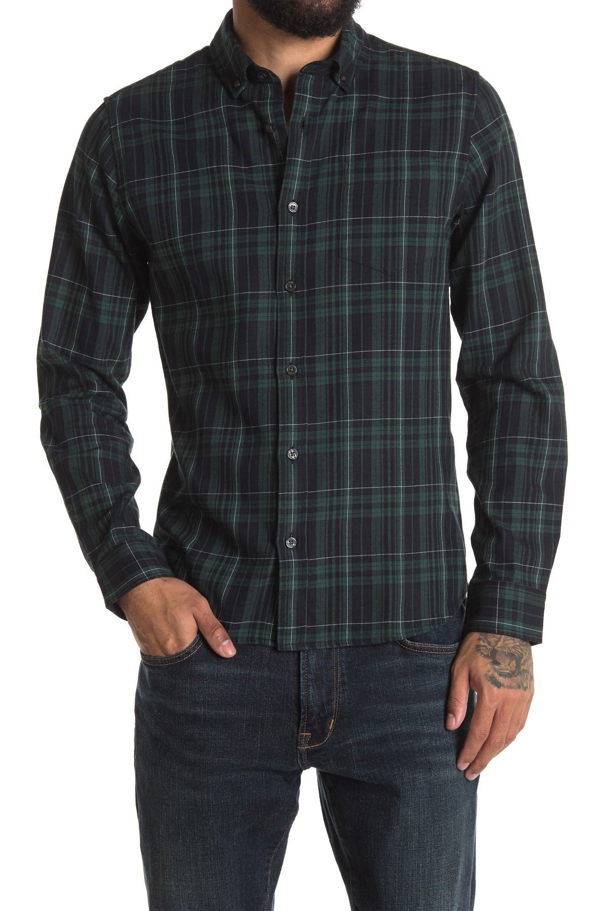 Image of Slate & Stone Long Sleeve Flannel