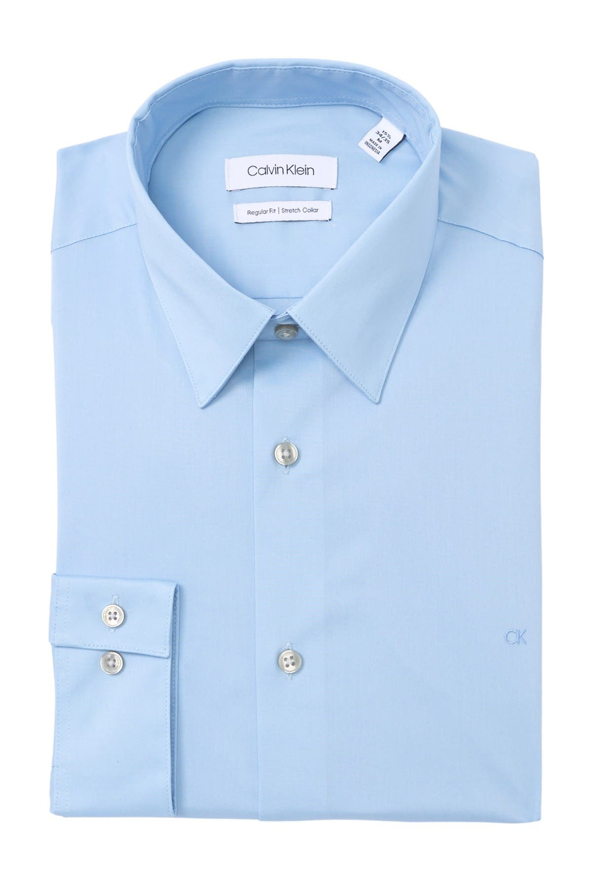 Image of Calvin Klein Regular Fit Dress Shirt