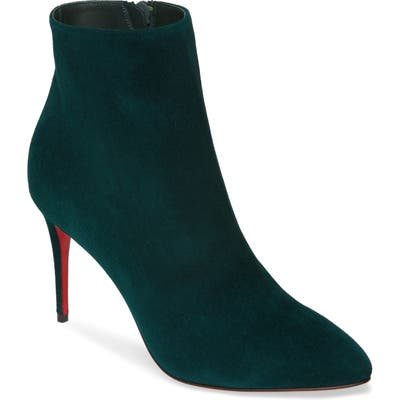 Christian Louboutin Eloise Pointy Toe Bootie - Green