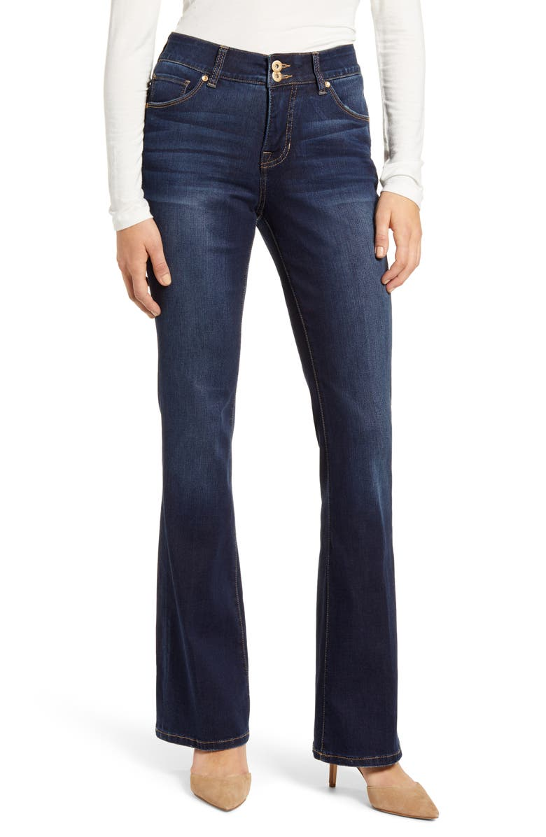 JAG JEANS Gloria High Waist Flare Jeans, Main, color, 420