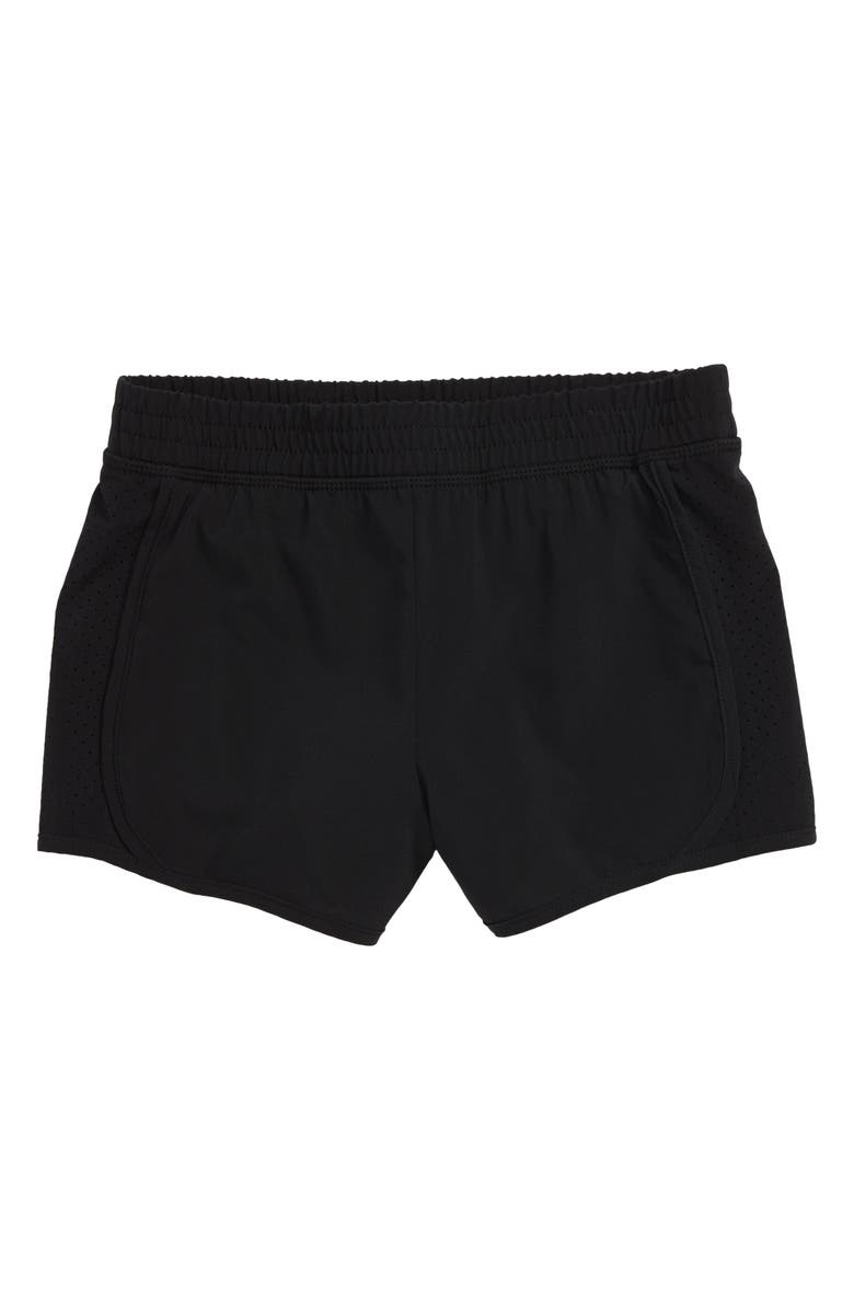 ZELLA GIRL Run Shorts, Main, color, 001