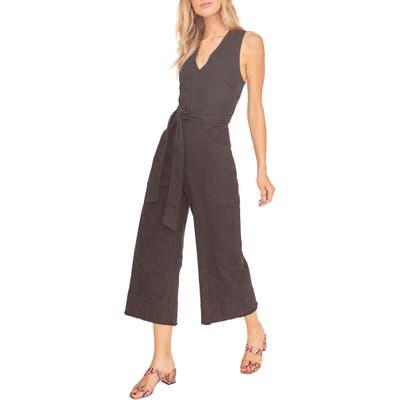 Astr The Label Daydream Sleeveless Jumpsuit, Black