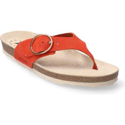 Mephisto Natalina Slide Flip Flop, Coral