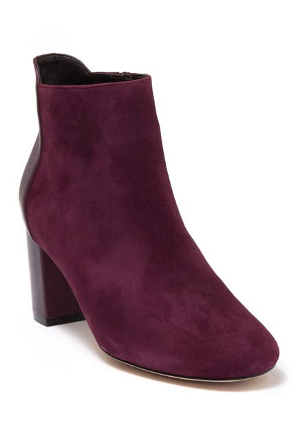 Image of Cole Haan Nella Suede & Leather Bootie