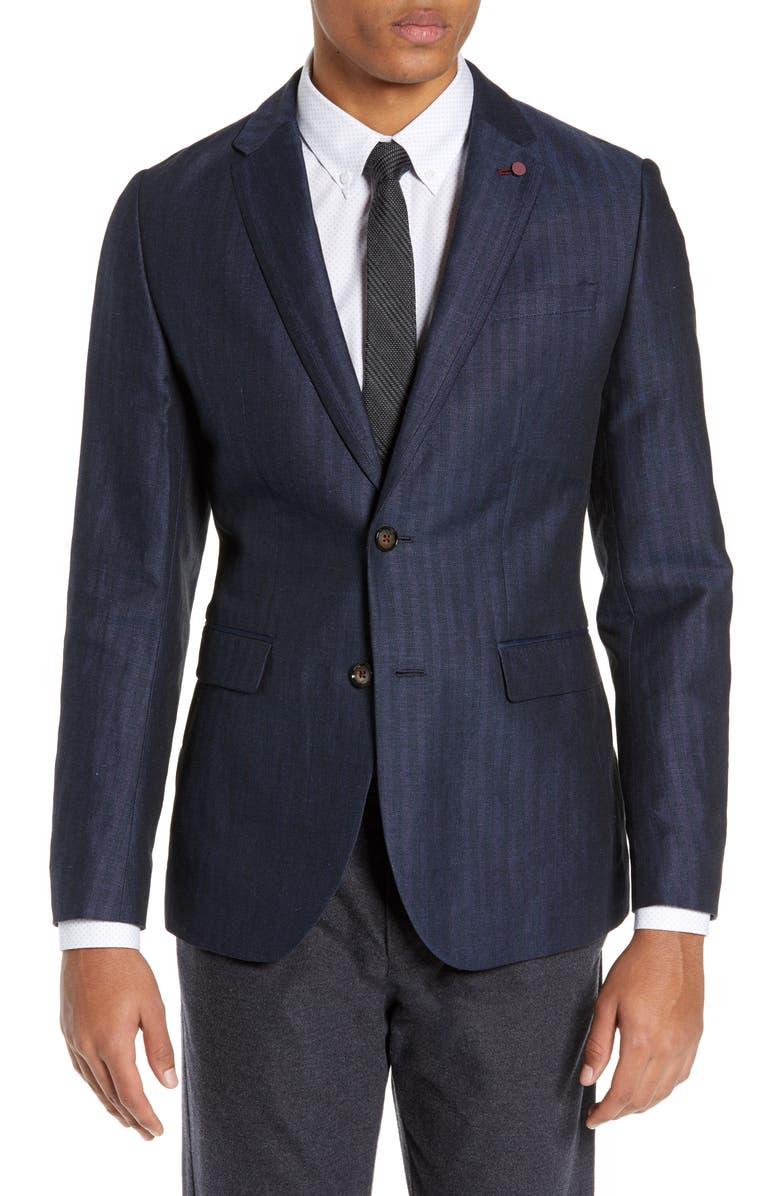 TED BAKER LONDON Balrom Slim Fit Sport Coat, Main, color, 410