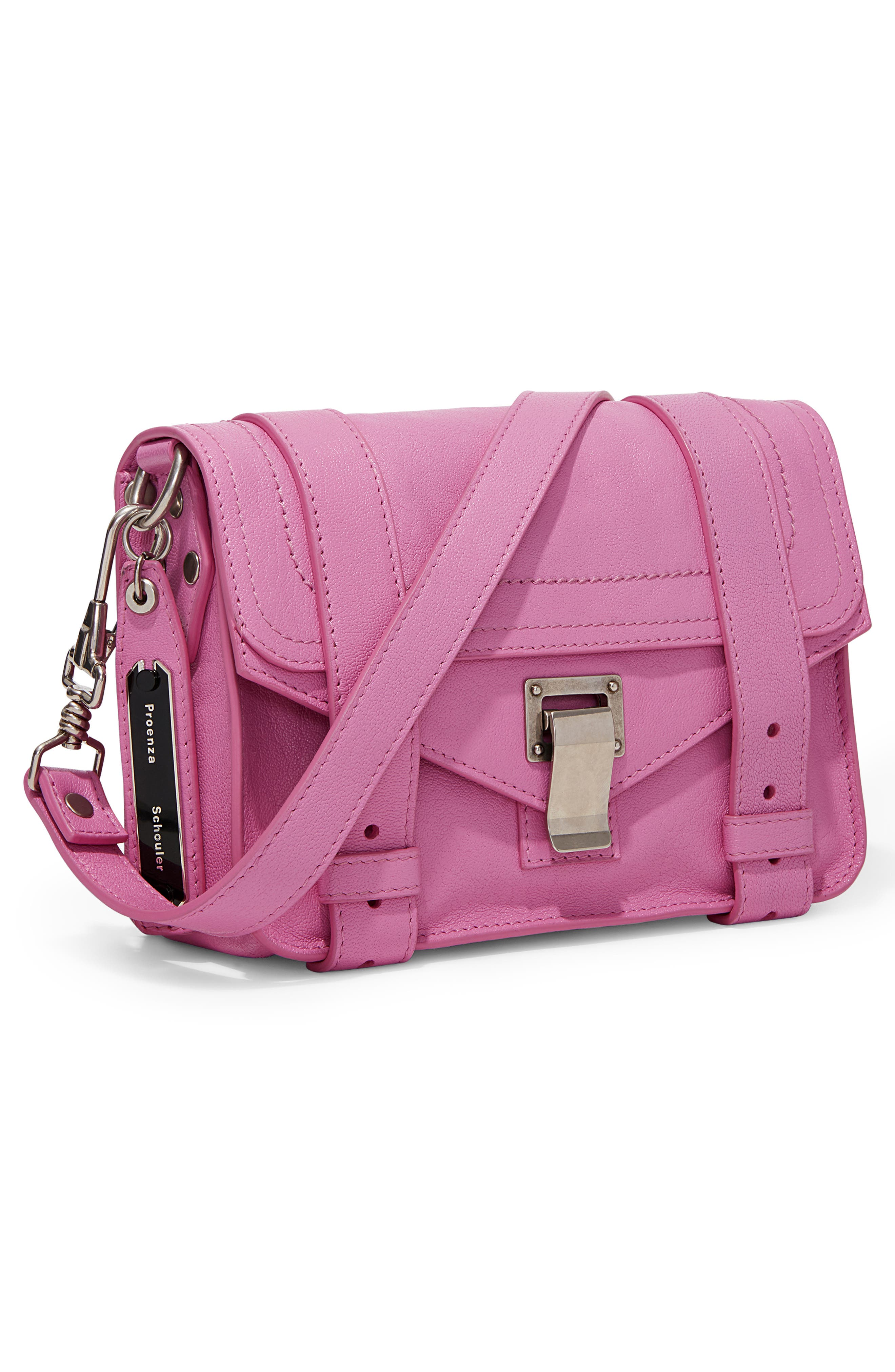 ,                             'Mini PS1' Lambskin Leather Crossbody Bag,                             Alternate thumbnail 10, color,                             652