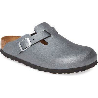 Birkenstock Boston Metallic Clog, Metallic