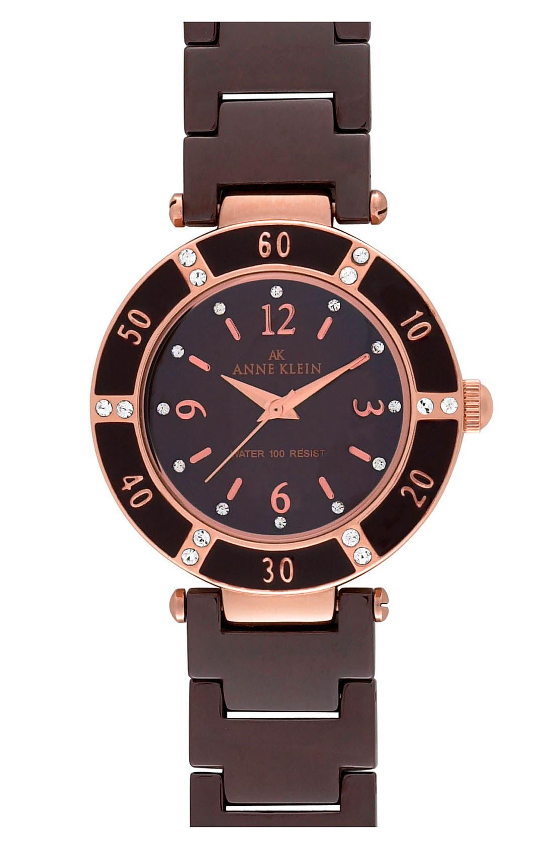 ,                             Round Ceramic Bracelet Watch, 31mm,                             Main thumbnail 10, color,                             200