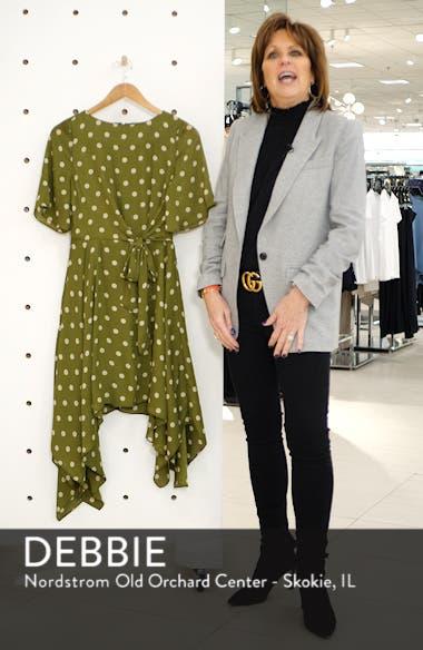 Chriselle Lim Marie Handkerchief Hem Midi Dress, sales video thumbnail