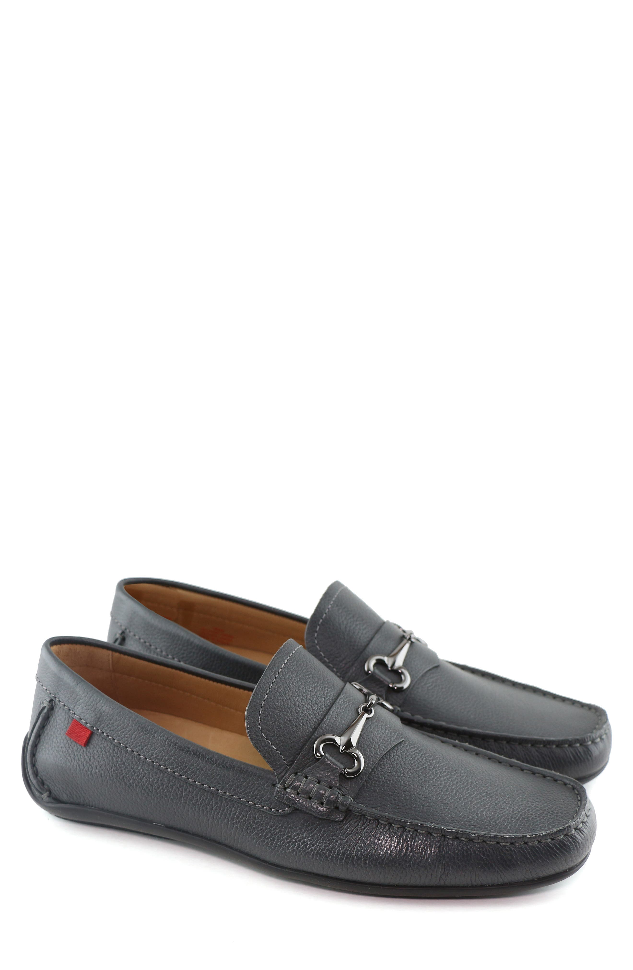 ,                             Wall Street Driving Shoe,                             Alternate thumbnail 8, color,                             GREY LEATHER