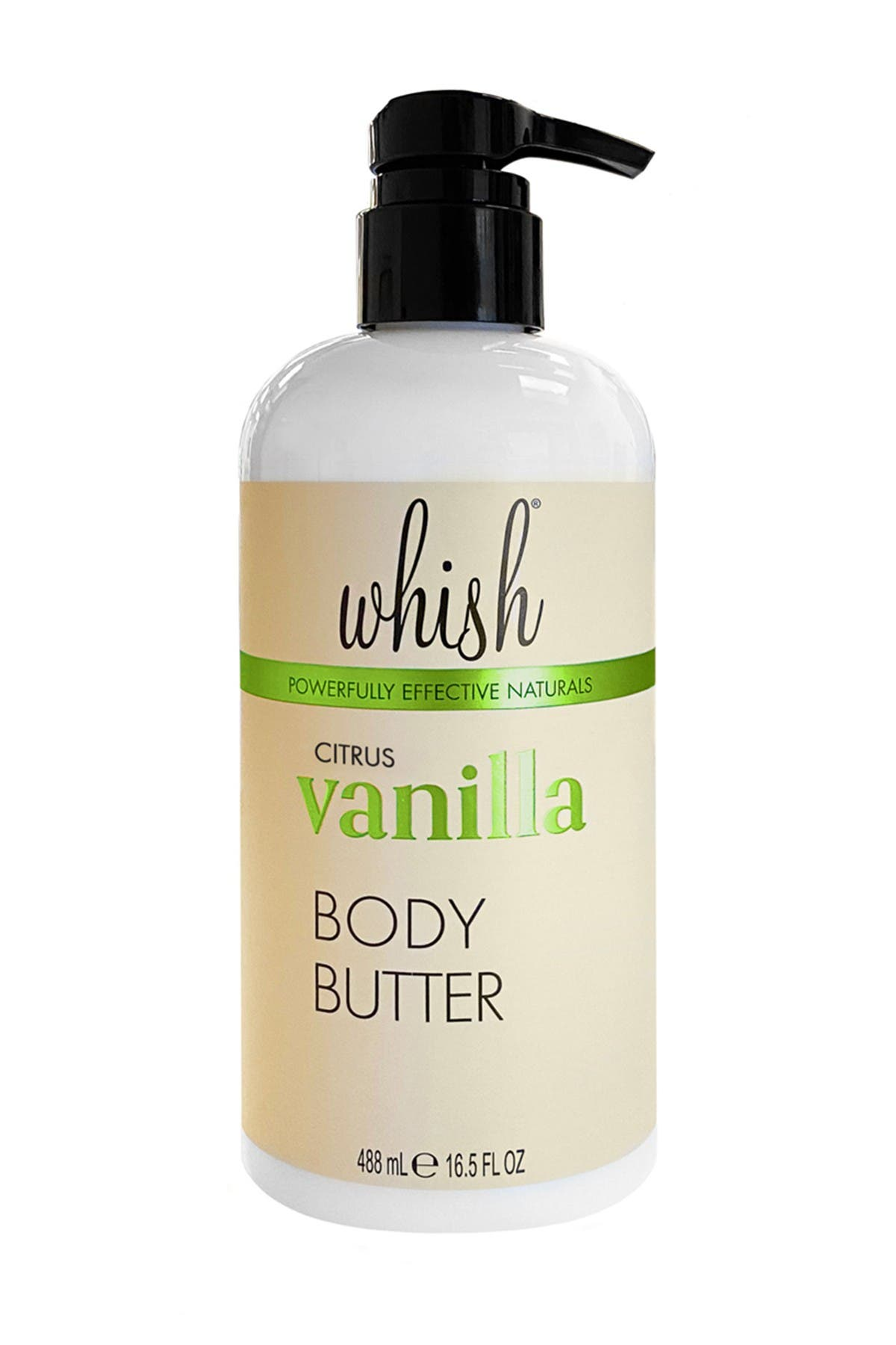 Image of Whish Citrus Vanilla Body Butter