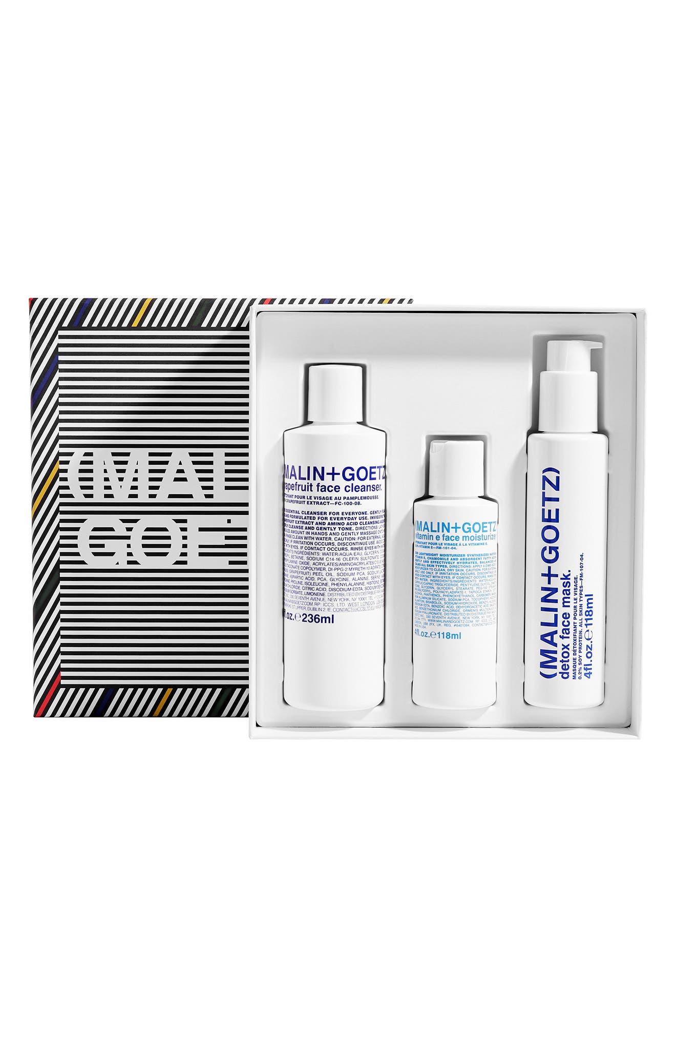 MALIN+GOETZ Saving Face Skin Care Set USD $132 Value in No Color at Nordstrom