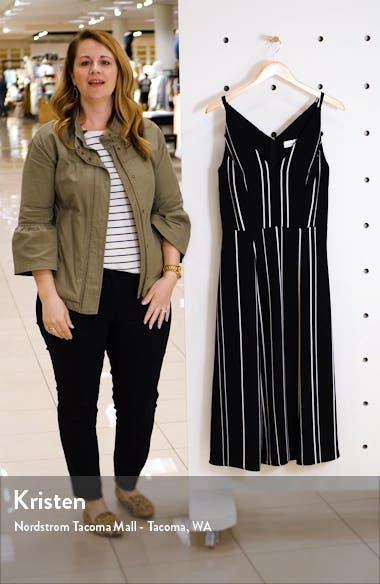 Stripe A-Line Dress, sales video thumbnail