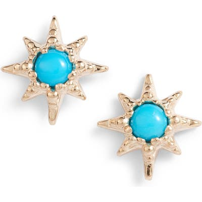 Anzie Micro Starburst Earrings