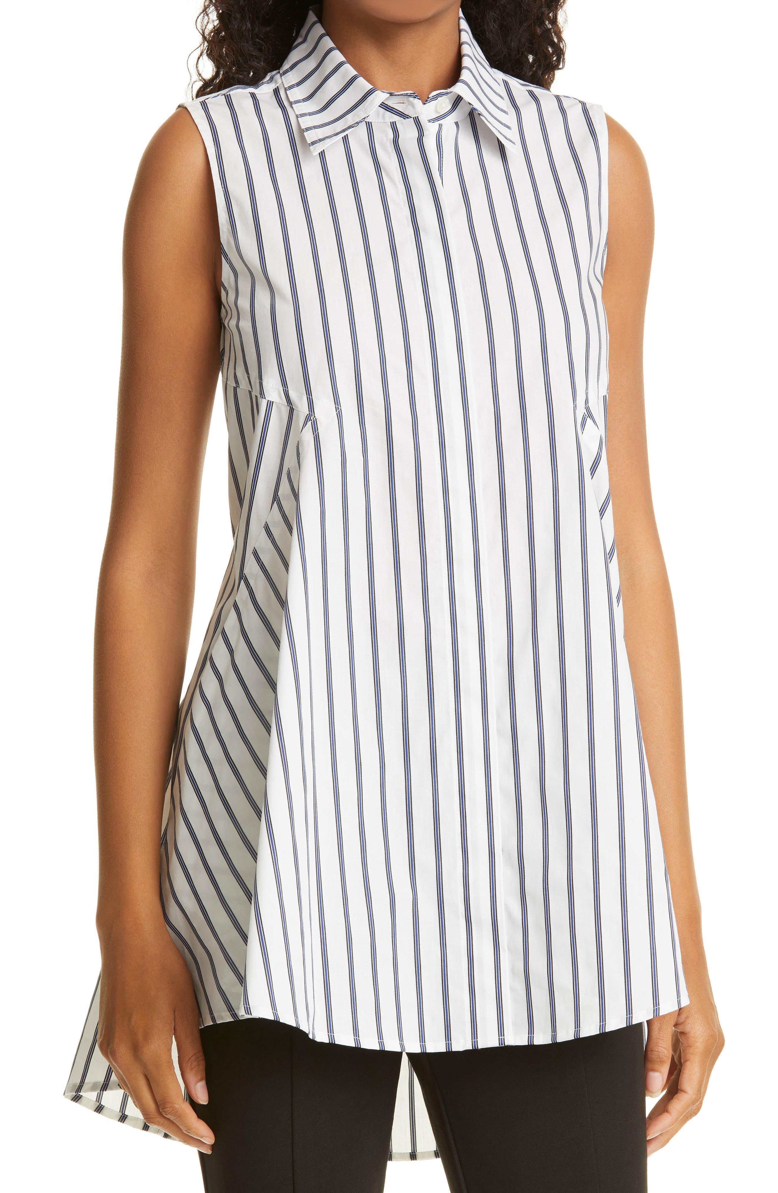 Signature Stripe Sleeveless Tunic
