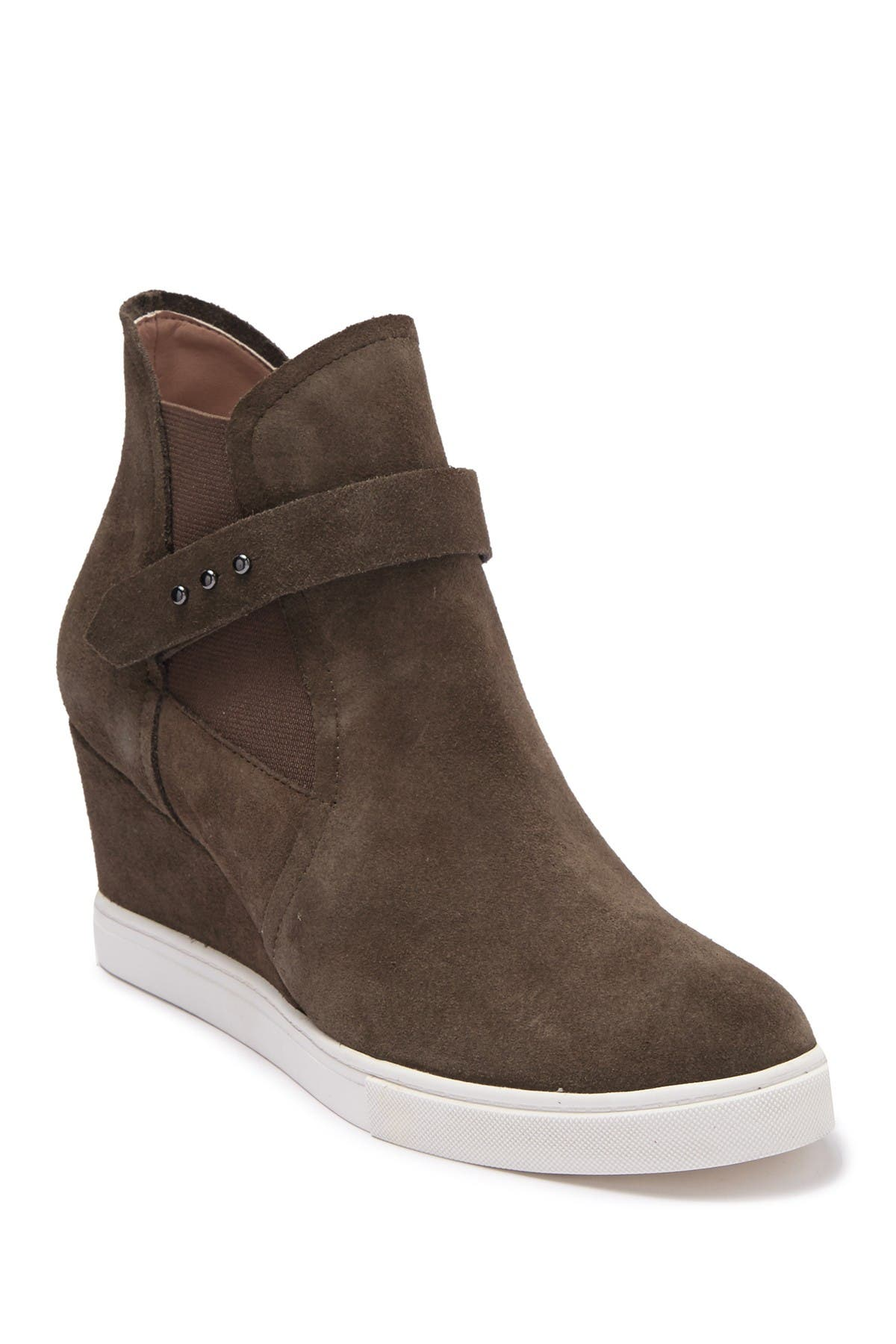 Image of Linea Paolo Freshton High Top Wedge Sneaker