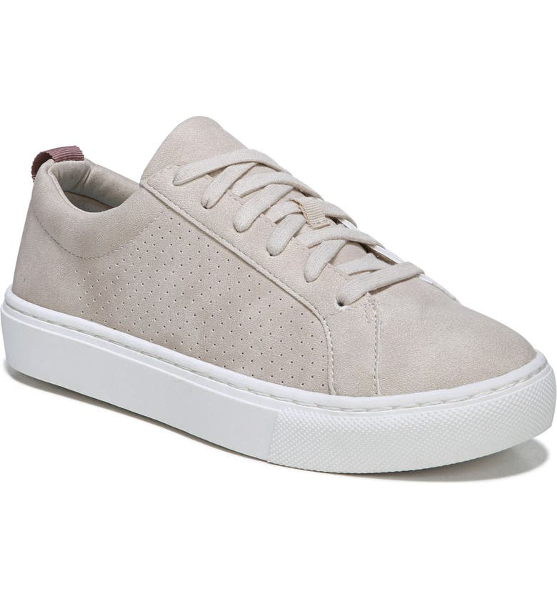 DR. SCHOLL'S No Bad Vibes Sneaker, Main, color, OYSTER FAUX LEATHER