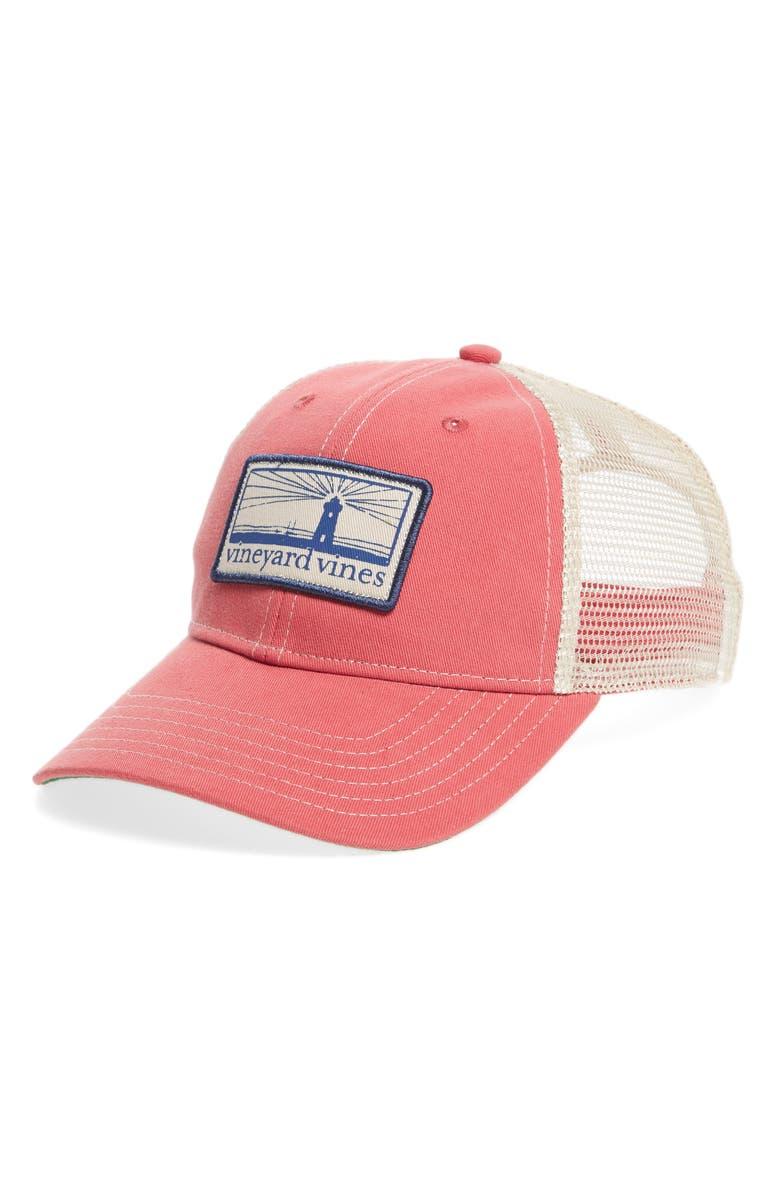 86bfb6c9e05 Vineyard Vines Lighthouse Patch Trucker Hat | Nordstrom