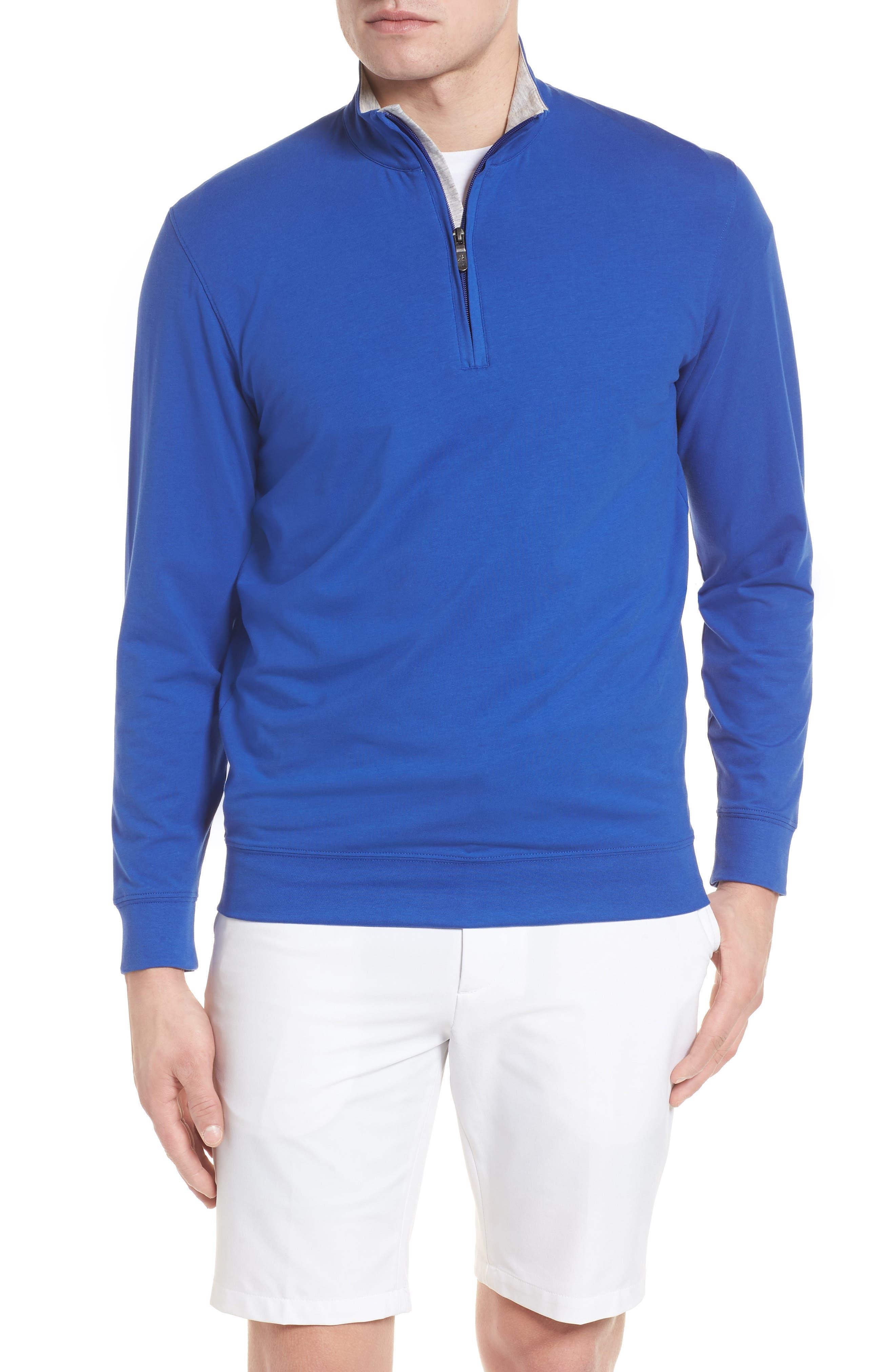 ,                             PTO Liquid Stretch Quarter Zip Pullover,                             Main thumbnail 7, color,                             401