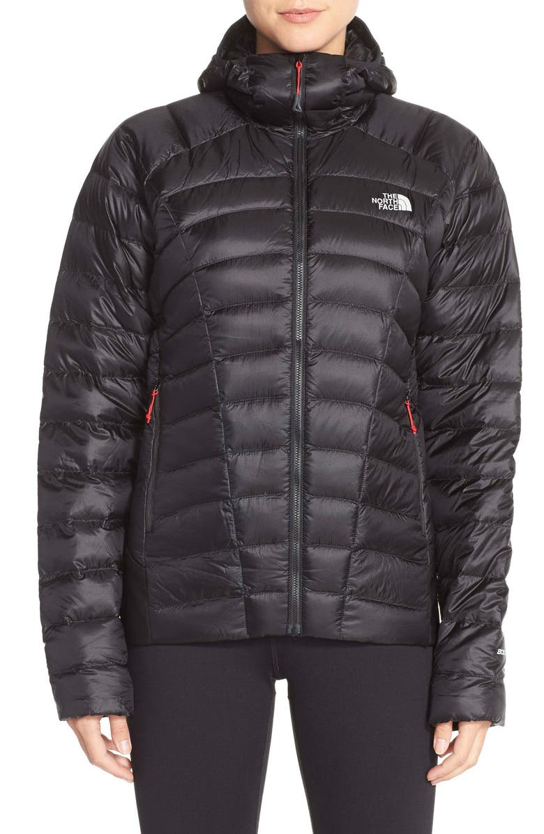 THE NORTH FACE 'Quince' Water Repellent Down Jacket, Main, color, 001