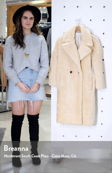 Whinnie Borg Maxi Coat, sales video thumbnail