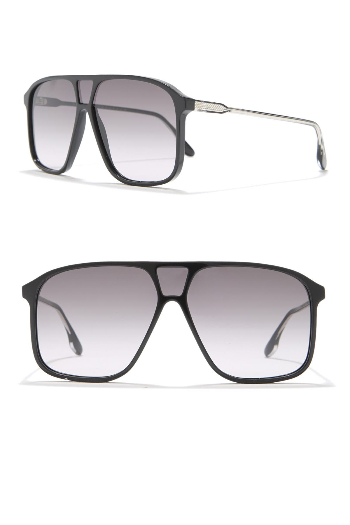 Image of Victoria Beckham 60mm Shield Sunglasses