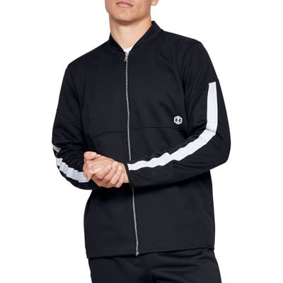 Under Armour Athlete Recovery Warm-Up Jacket, Black