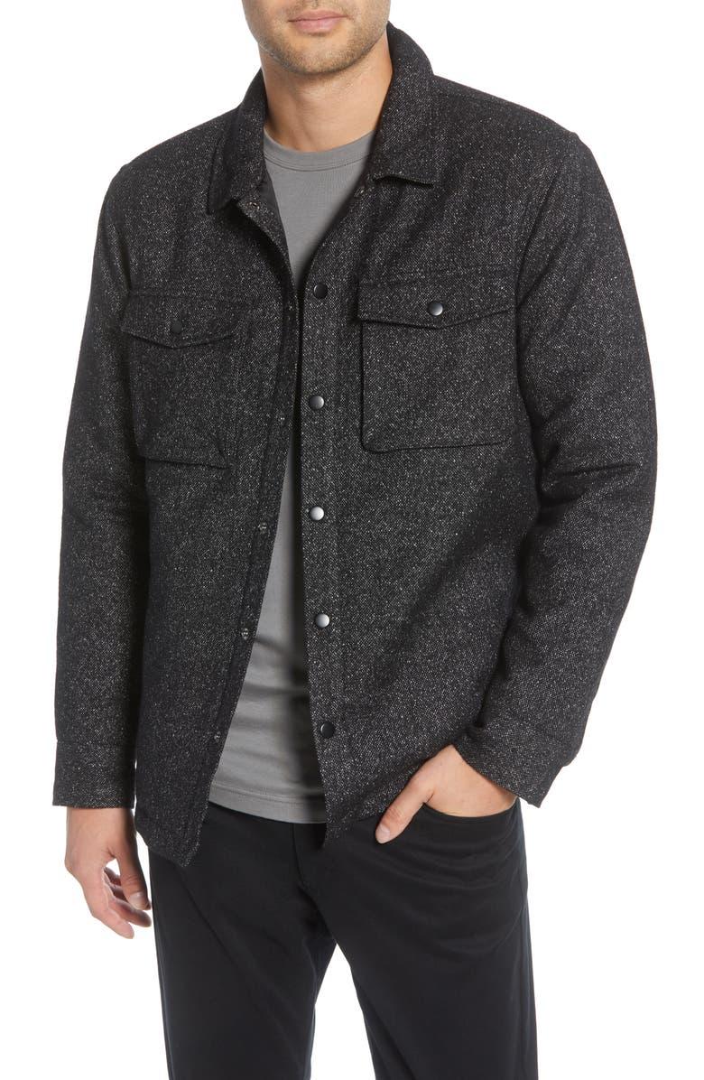 CALIBRATE Utility Shirt Jacket, Main, color, 001