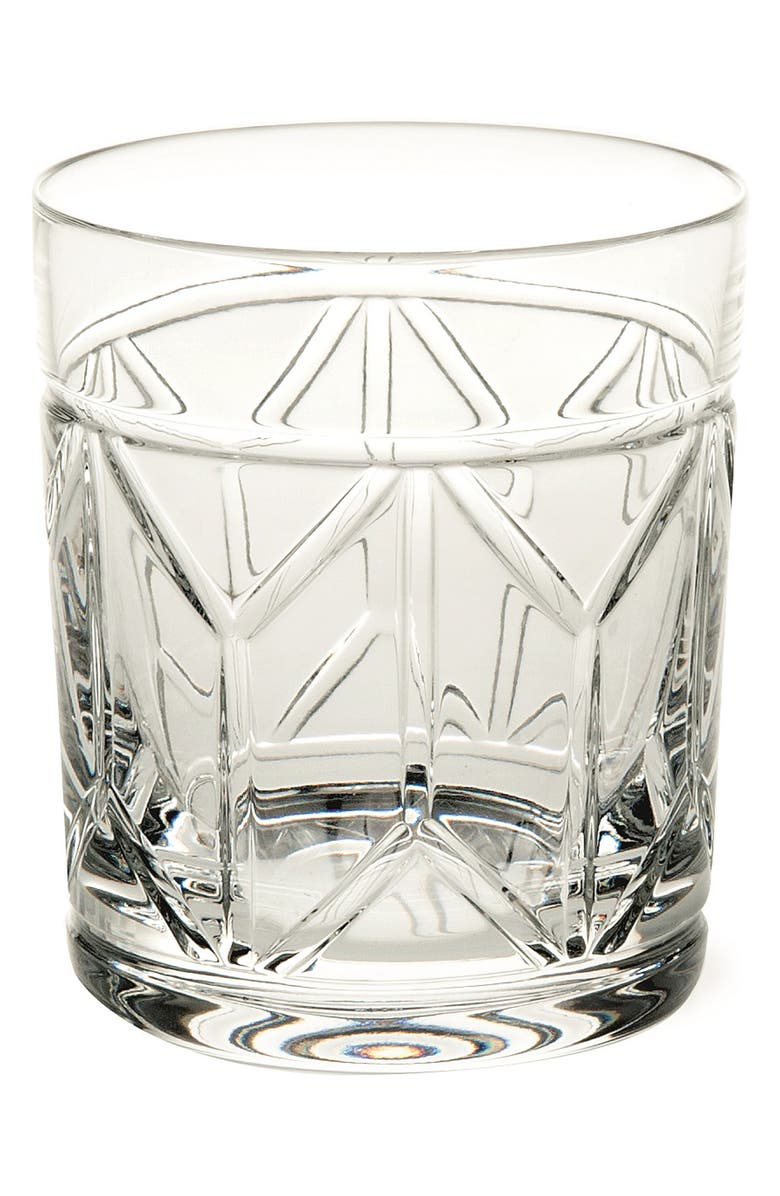 VISTA ALEGRE Vista Alegre Avenue Lead Crystal Old Fashioned Glass, Main, color, CLEAR