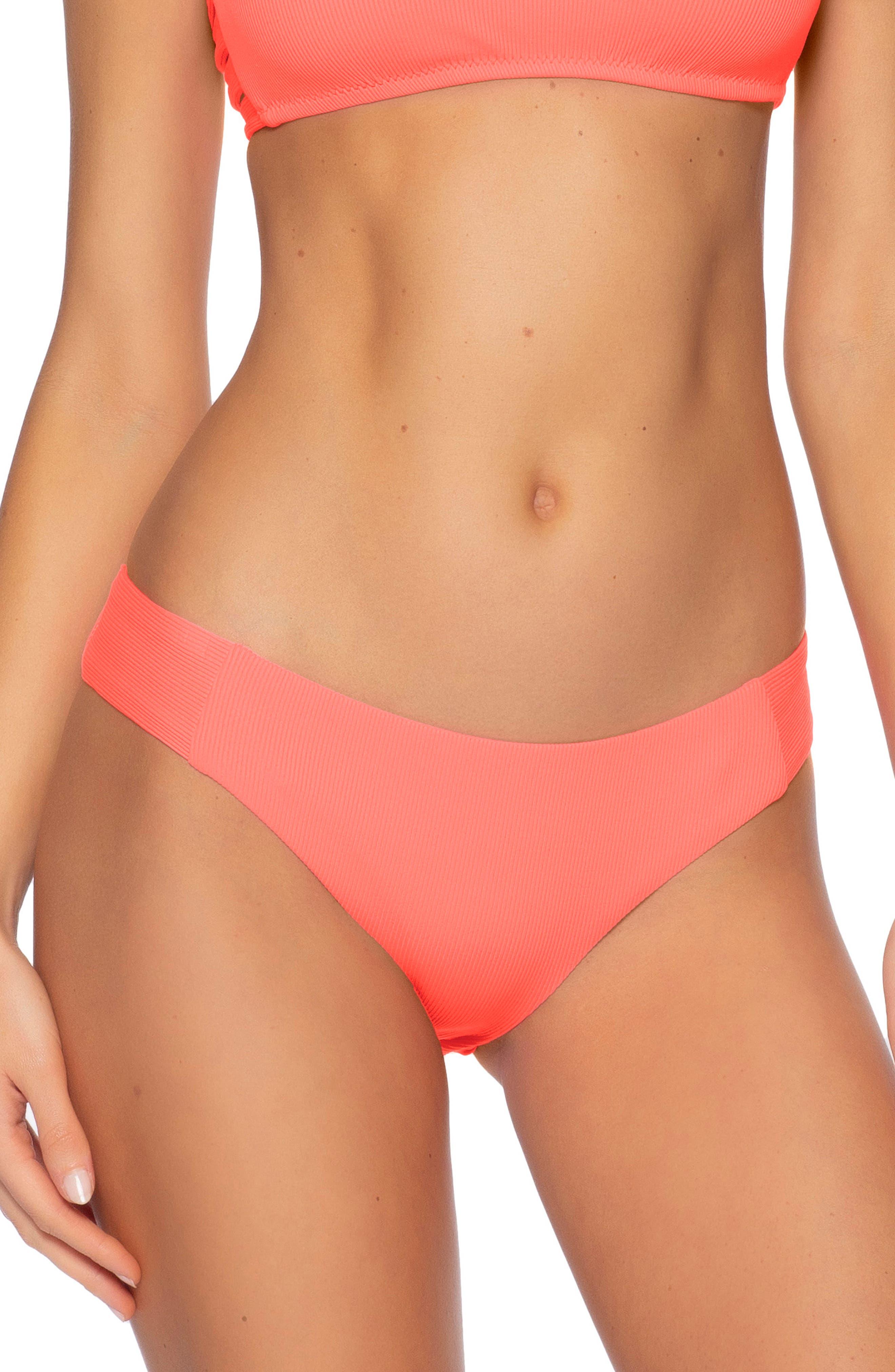 Fine Line Tab Side Bikini Bottoms