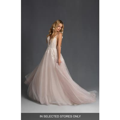 Blush By Hayley Paige Fiona Tulle Ballgown Wedding Dress, Size IN STORE ONLY - Ivory