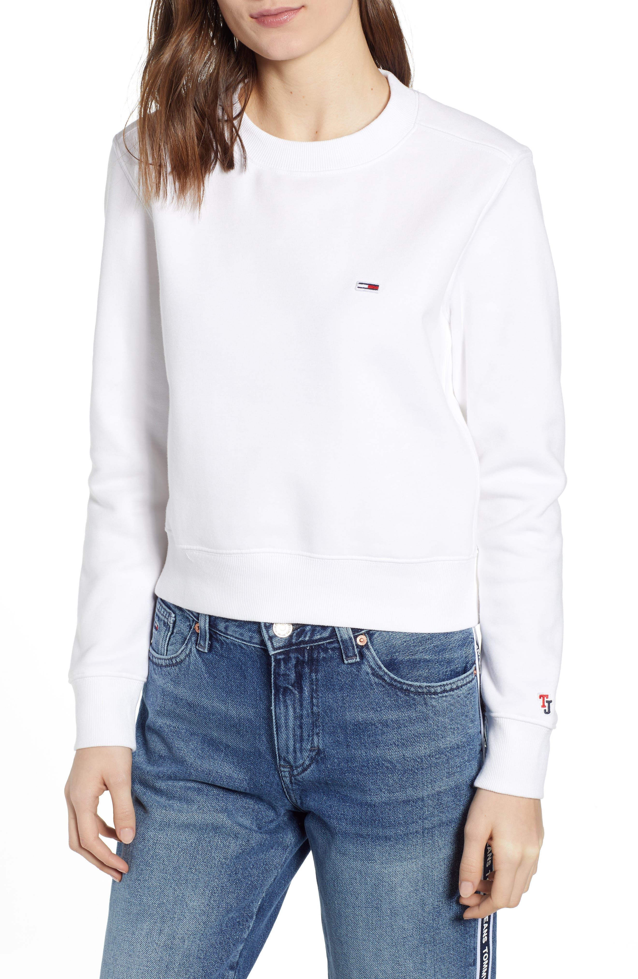 Tommy Jeans Tjw Logo Cuff Sweatshirt