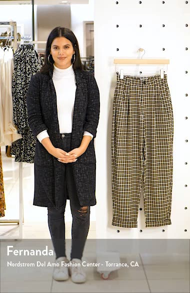 Check Tapered Trousers, sales video thumbnail