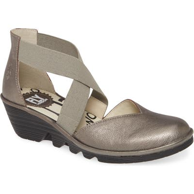 Fly London Paco Wedge, Grey