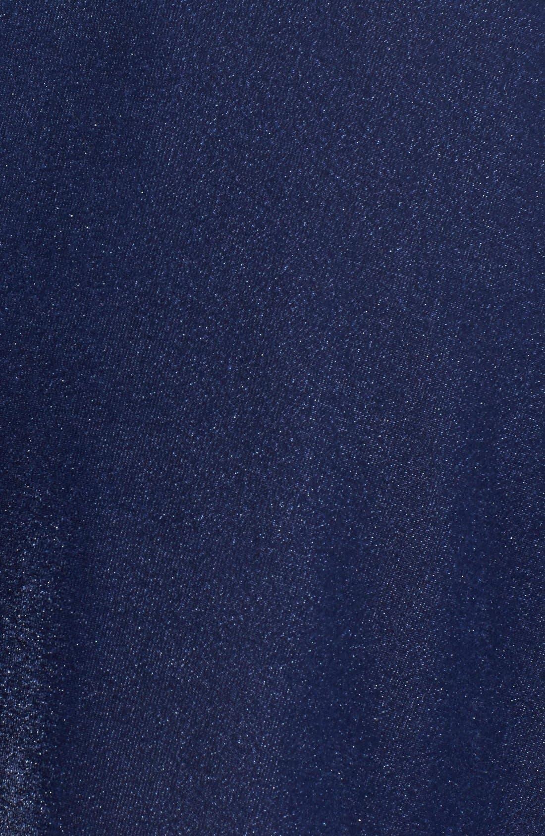 ,                             Velour Skater Skirt,                             Alternate thumbnail 6, color,                             410