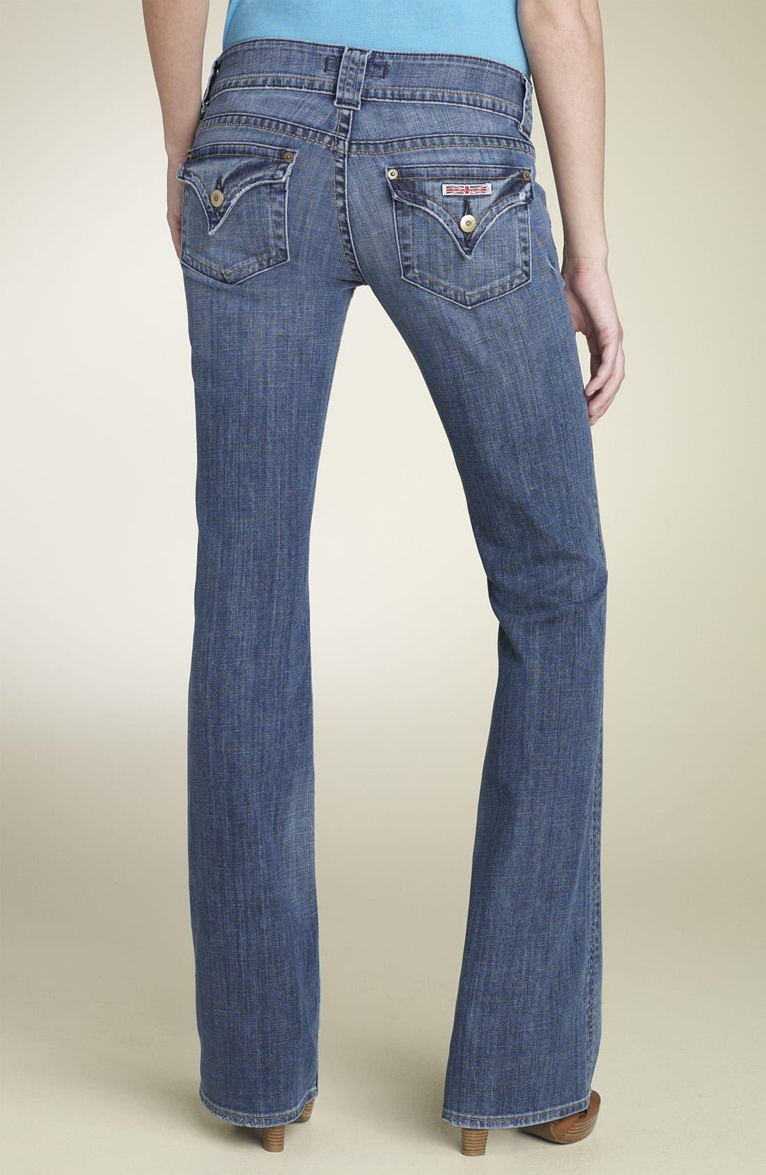 ,                             Signature Flap Pocket Bootcut Jeans,                             Alternate thumbnail 40, color,                             429