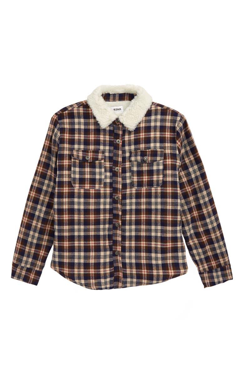 HUDSON JEANS Hudson Oatman Fleece Lined Jacket, Main, color, 615